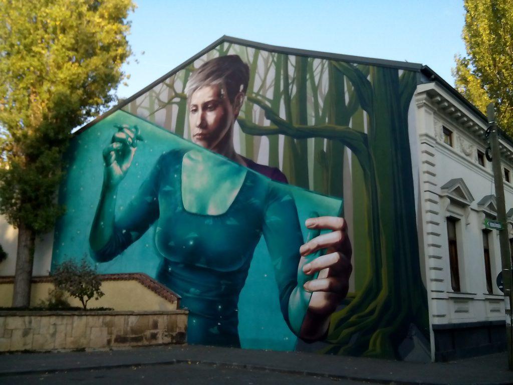 pictura murala strada eremia grigorescu
